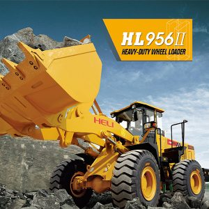 Wheel loader heli HL956II